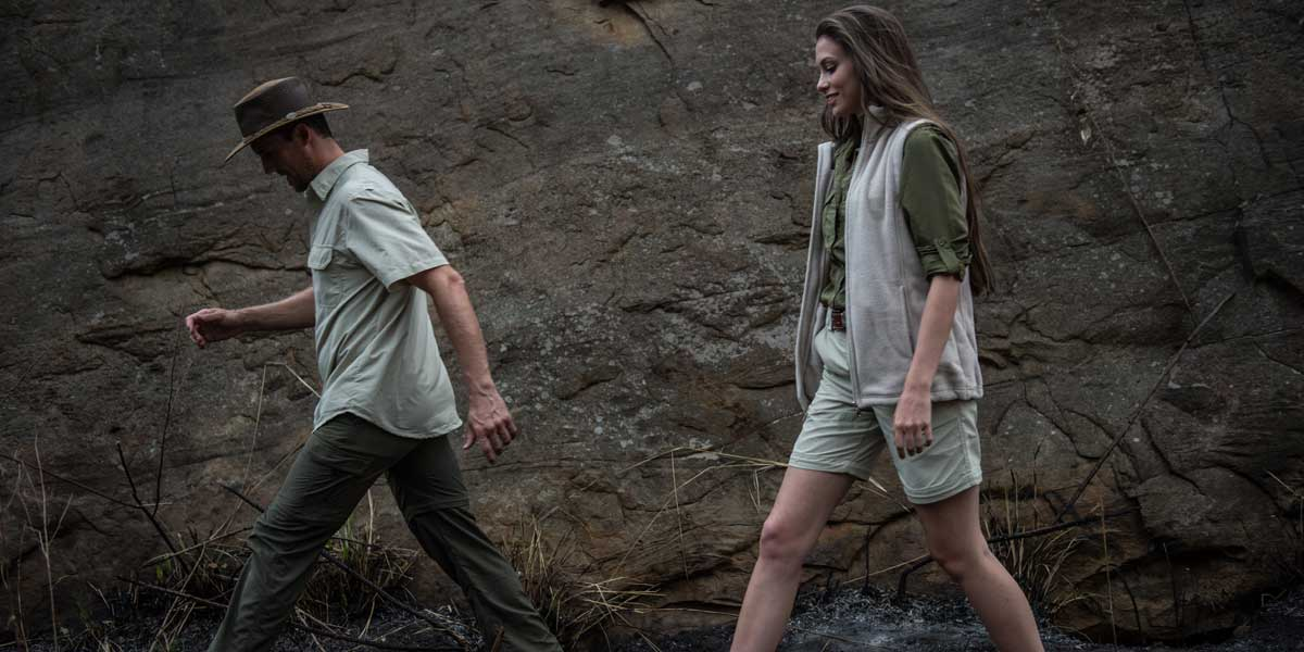 Men's and ladies' farm clothes from The Safari Store