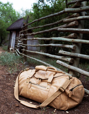 Quintessential Leather Duffel Bag for Farmers