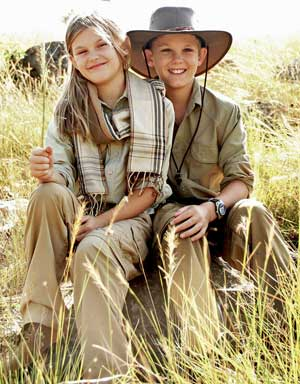 Rufiji Anti-Insect Farm Trousers for Children