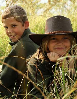 Rufiji Bonded Farm Fleece Jacket for Boys and Girls