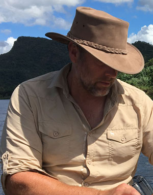 Rufiji Explorer Leather Hat For Farmers