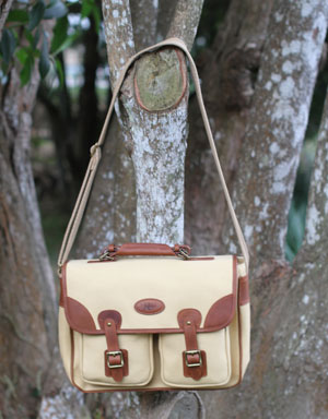 Rufiji Explorer Canvas and Leather Satchel for Farmers
