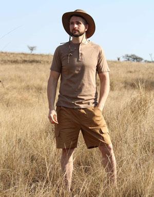 Savute Men's Cargo Shorts for Farmers