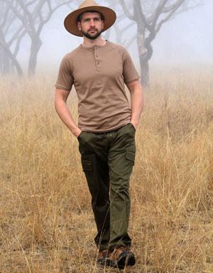 Savute Men's Cargo Pants for Farmers