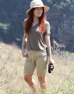 Serengeti Women's Farm Shorts
