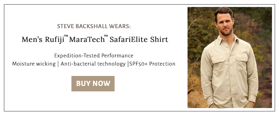 Shop for the shirt Steve Backshall wears when in the outdoors