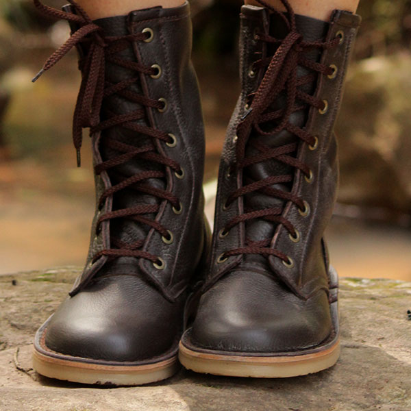 Close-up of the Rufiji™ APU Boots