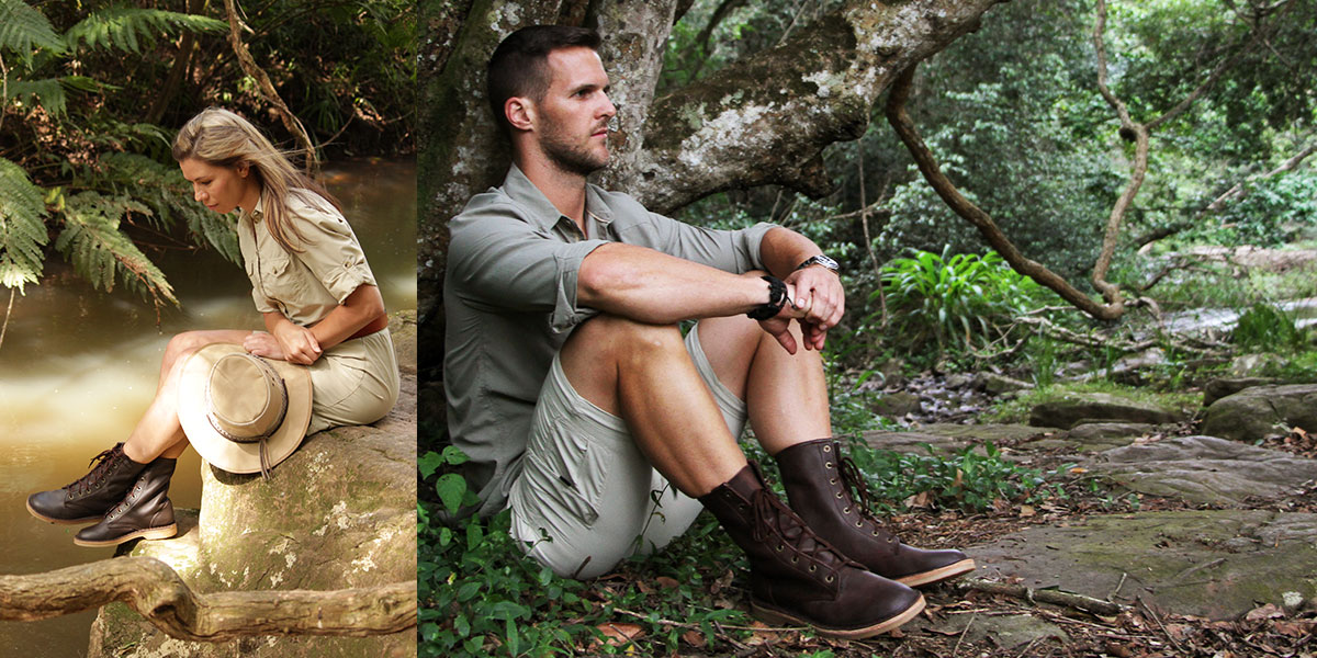 The Rufiji™ APU boots aren't just for the APU but are the perfect shoes for safari and other outdoor activities