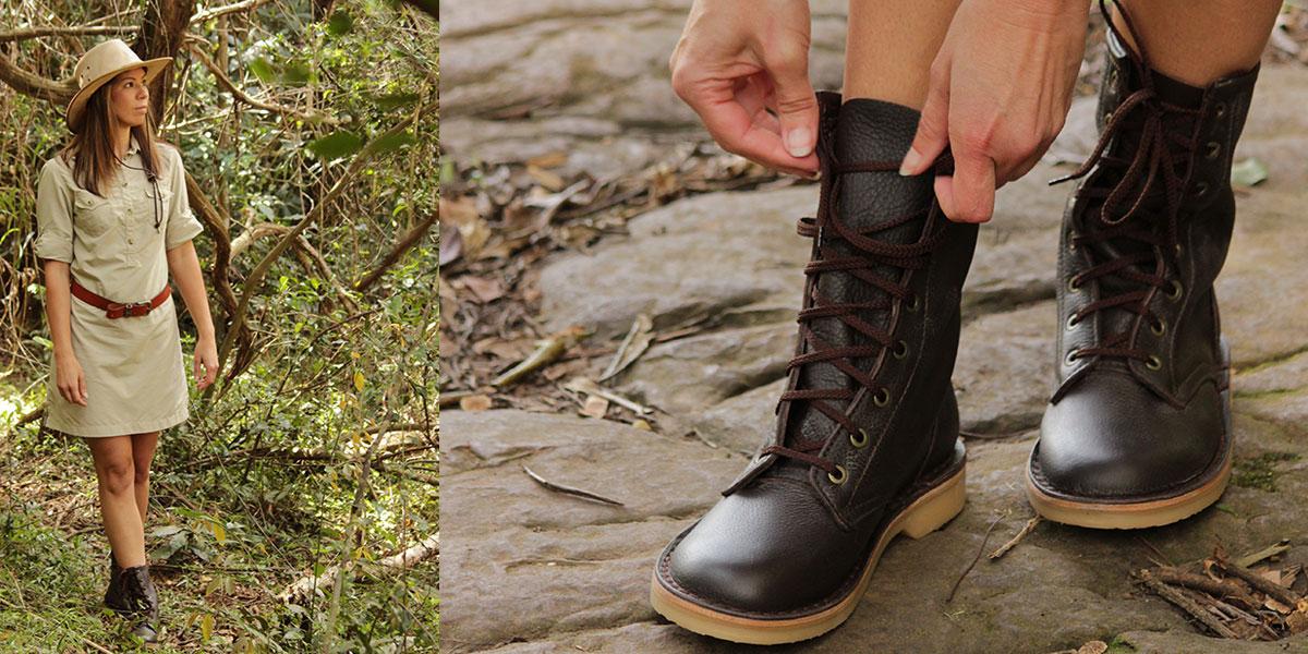 The Rufiji APU Boots on safari