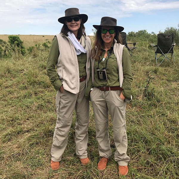 Angela Middleton in Kenya, 2017