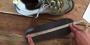 How to get the right shoe size