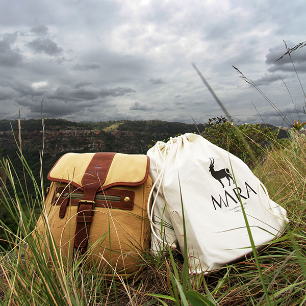 All luggage from our Rufiji™ and Mara&Meru™ ranges are no longer packaged in plastic. Instead, they now come in strong canvas drawstring bags you can use as a laundry or stand-alone bag for many years into the future.