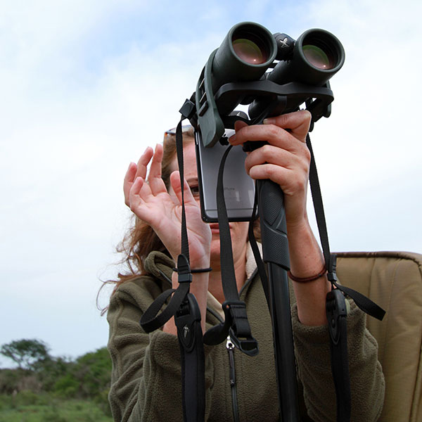 Make sure you know your gear before using it on safari.