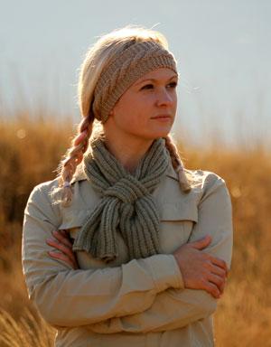 Thusk Women's Knitted Headband for Farmers