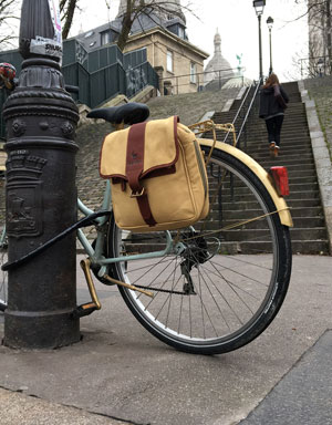 Pannier bag satchel in canvas