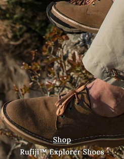 Safari shoes which are casual, yet tough. Made from Suede leather