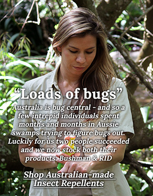 Insect repellent made in Australia