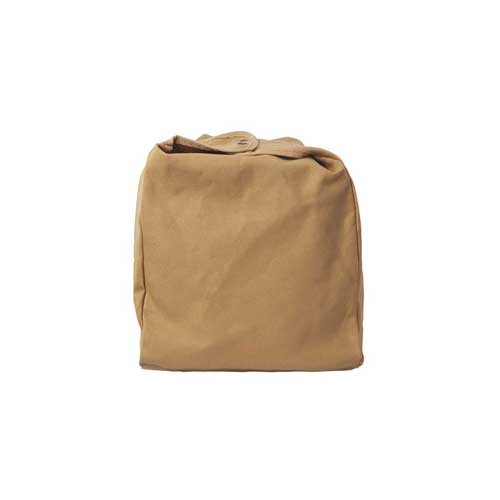 Luggage protector covers from The Safari Store are made from canvas with brass detail