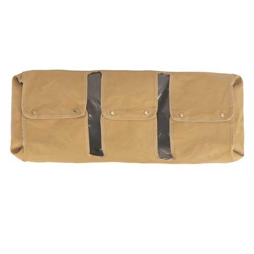 Luggage protective covers in a wraparound design for canvas and leather travel bags from The Safari Store