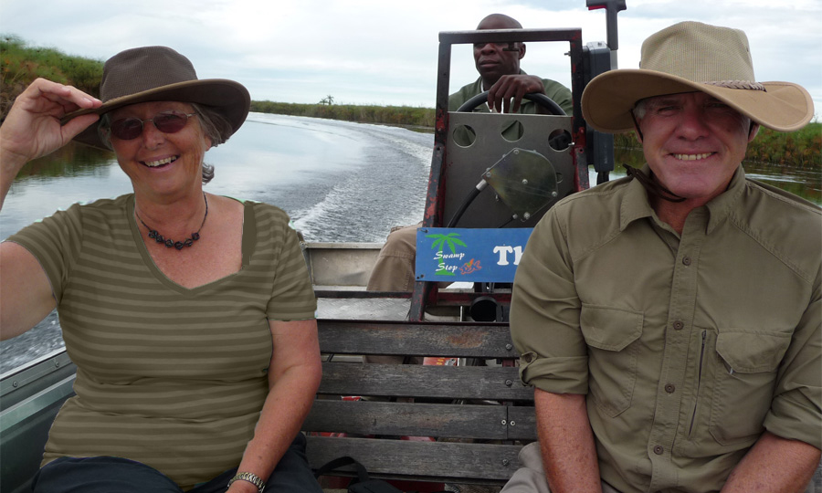 Okavango Delta virtual Okavango expedition day 3 distance rowed