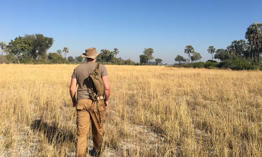 Okavango islands walking